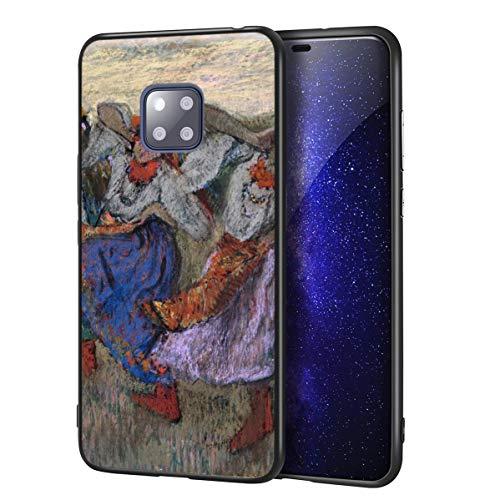 Berkin Arts Edgar Degas Custodia per Huawei Mate 20 PRO/per Cellulare Art/Stampa giclée UV sulla Cover del Telefono(Ruso Bailarines)