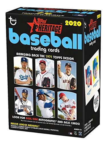 2020 Topps Heritage MLB Baseball Retail Blaster Box