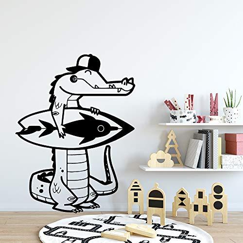 yaonuli dinosaurus muursticker vinyl waterdicht muursticker kinderkamer decoratie afneembare muurschildering