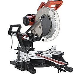 SAY YEAH 1700W Power Sliding Miter Saw 3800RPM with Laser Comparison