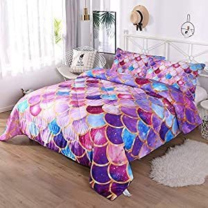 510xA9LvYKL._SS300_ Mermaid Bedding Sets & Comforter Sets