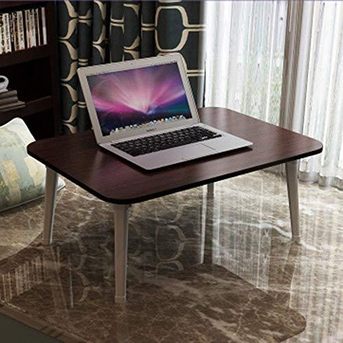 AYHa Klapptisch Einfachen Schreibtisch-Computer-Klappbett Schreibtisch Studenten Schreibtisch Faule 8 Farben Optional Tabelle 60 * 40 * 29cm,F