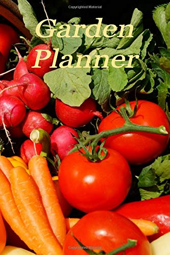 Garden Planner: Garden journal and planner with garden layout graphs, planting records and plant care notes in one book that every gardener will love