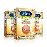 Enfamil Fer-In-Sol Drops 50 mL (Pack of 3)