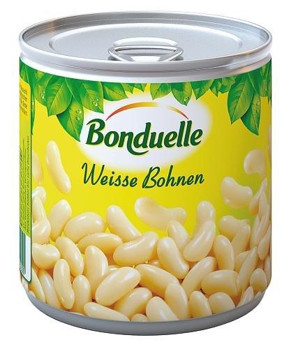 Bonduelle weiße Bohnen , 6er Pack (6 x 425 ml Dose)