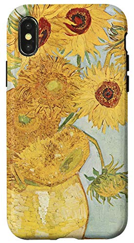 iPhone X/XS Van Gogh Sunflowers Cool Art Gifts For Artist Case