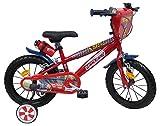 EDEN-BIKES Cars - Bicicleta Infantil, Multicolor, 14'