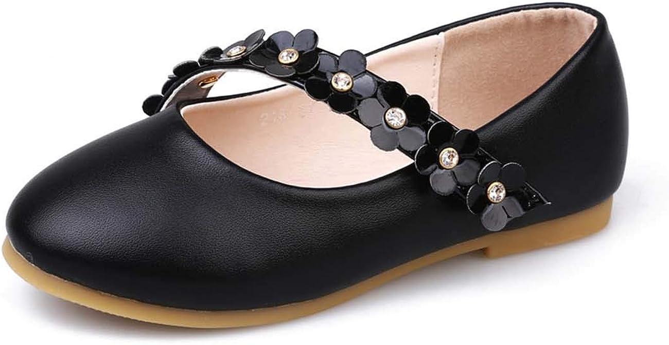 JOEupin Girls Ballet Pumps Mary Jane Bridesmaids Wedding Party Shoes