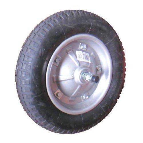 マツモト 一輪車用タイヤ 13x3 ノーパンクタイヤ SR1302A