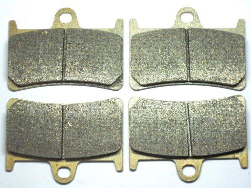 Master Chen Front Brake Pads For TZR 250 FZR 400 XP 500 FZ6 FZS 600 FZ1 FZF 1000 BT 1100 FA252F MC0121-PAD