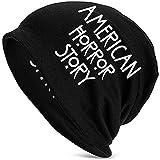 American Horror Story Knit Hat Novedad Beanie Gorra Negra para Hombre Sombrero Accesorio