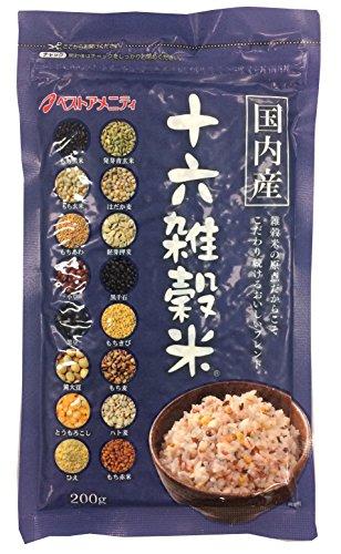 国内産 十六雑穀米(黒千石入り) 200g