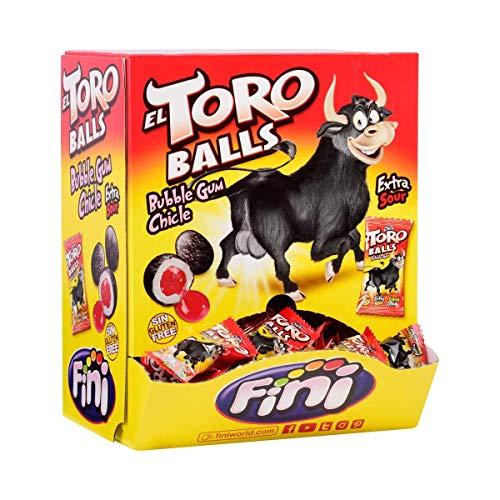 BUBBLE TORO BALLS 200 Unid Kaugummi