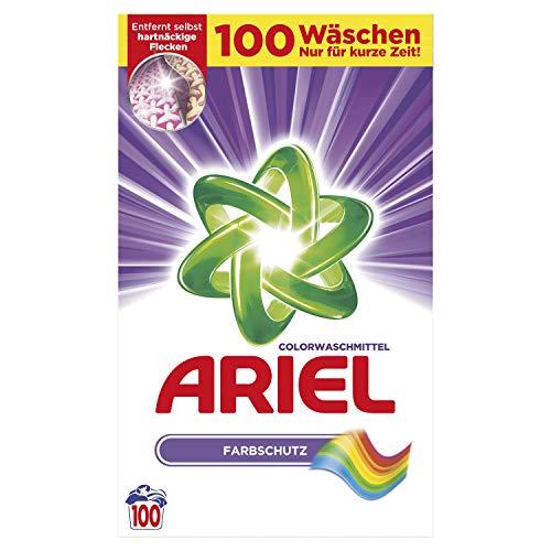 Ariel Pulver Colorwaschmittel, 7 kg – 100 Waschladungen