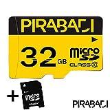 Tarjeta de Memoria Micro SD 32GB 32GB 32GB Go Original   pirabadi Ultra Extreme Pro   Capacidad Reel   + Adaptador   Marca 100% Francaise