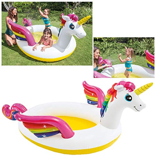 Intex 57441NP - Unicornio Hinchable Piscina con pulverizador