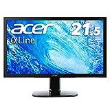 Acer モニター ディスプレイ AlphaLine 21.5インチ KA220HQbmidx フルHD TN HDMI DVI D-Sub スピーカー内蔵 ブルーライト軽減 VESA対応