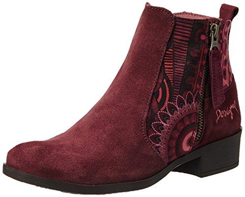 Desigual Shoes Natalia 13, Chelsea Boots Femme, Rouge 3068 Grenat Medio, 40 EU