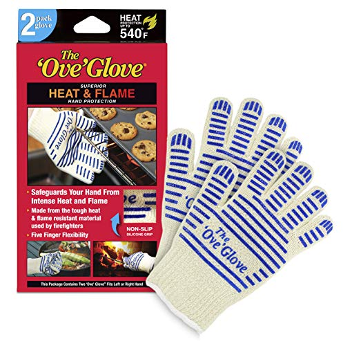 As Seen On TV HH515-02 Ove Glove Heat & Flame Superior Hand Protection 2-Pack