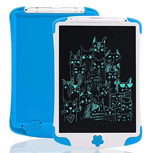 Arolun Tableta de Escritura LCD, Pantalla Colorida de 10 Pulgadas, Escritor Electrónico, Tableta Gráfica Electrónica, Almohadilla de Dibujo para Niños, Adultos, Hogar, Escuela, Oficina (Azul)