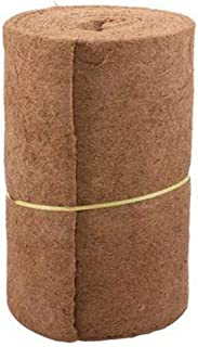 Flickering Coco Fiber Mat Coco Liner Bulk Roll for Wall Hanging Baskets, Coco Plant Base Liner Bulk Roll with 24inch Width and 33inch Lenth
