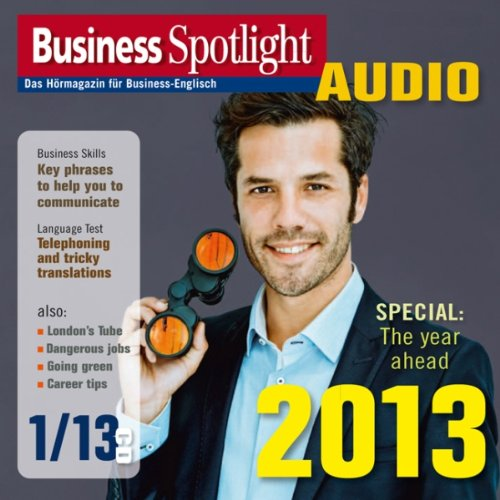 Business Spotlight Audio - The year ahead 2013. 1/2013 Titelbild