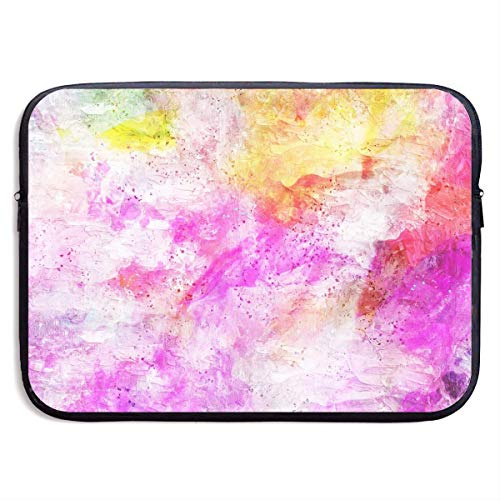 JKOVE Borsa per PC Portatile,Printed Art Abstract Watercolor Texture Ultrabook Briefcase Sleeve Bags Cover for MacBook Pro/Acer/Asus/Lenovo Dell
