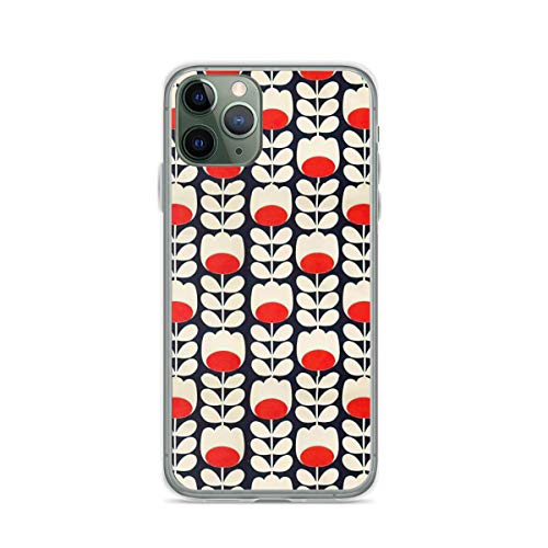 Phone Case Orla Kiely Flowers Design Compatible with iPhone 6 6s 7 8 X Xs Xr 11 12 Pro Max Mini Se 2020 Drop Shock
