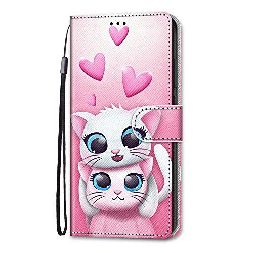 iPhone SE 2020-hoesje, iPhone 7/8-hoesje, 3D schokbestendig Premium PU-lederen schokabsorberende portemonnee telefoonhoesjes met magnetische standaard kaarthouders Bumper Flip beschermhoes