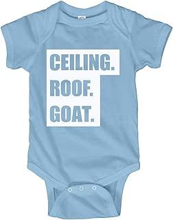 FUNNYSHIRTS.ORG Ceiling Roof Goat Baby Bodysuit: Infant Bodysuit