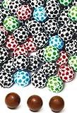 DISOK - Balones Chocolate (Bolsa 175 Unids.) - Bombones Balón Pelota de Fútbol, bombones para Cumpleaños, Comuniones y Fiestas