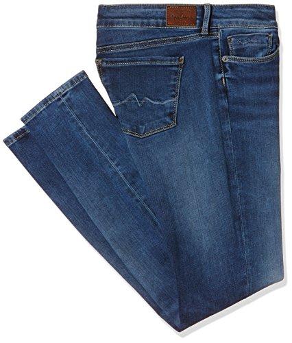 Pepe Jeans Jeans Skinny, Blu Denim 000 Z63, 27 W Donna