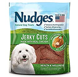 Nudges Health and Wellness Chicken Jerky