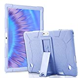Universal Tablet Case 10 Inch with Stand, Compatible with Zonko, Dragon Touch, VANKYO, MEIZE, Feonal, WINSING, WECOO, Lectrus, Victbing, Hoozo, AOYODKG, DUODUOGO (Purple)