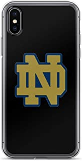 iPhone 7 Plus/8 Plus Pure Clear Case Cases Cover Notre Dame Logo