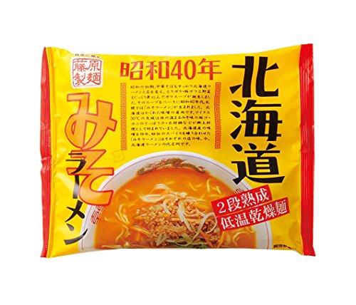 藤原製麺 昭和40年北海道みそラーメン 119g