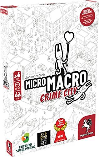 MicroMacro: Crime City (Edition Spielwiese) **Spiel des Jahres 2021**