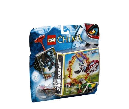 LEGO Chima 70100 - Il Cerchio di Fuoco, Razar, 6-12 Anni