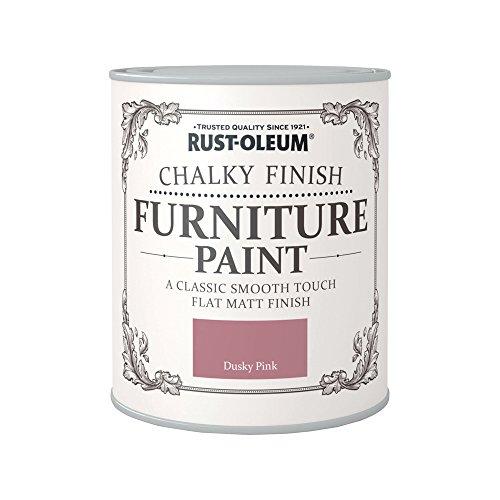 Rust-Oleum RO0070017X1 - Pintura De Chalky Finalizar Muebles - Rosado Oscuro - 125Ml