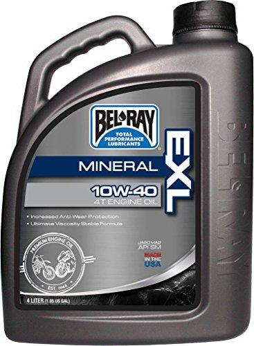 Garrafa 4 L Aceite Bel-Ray Motor 4T EXL Mineral 10W-40