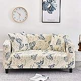 WXQY Fundas con patrón Cruzado Funda de sofá elástica elástica Funda de sofá con protección para Mascotas Funda de sofá con Esquina en Forma de L Funda de sofá con Todo Incluido A11 1 Plaza