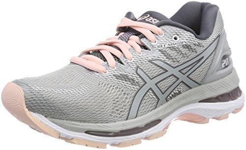Asics Gel-Nimbus 20, Zapatillas de Running para Mujer, Gris ...