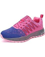 SOLLOMENSI Chaussures de Sport Running Basket Homme Femme Course Trail Entraînement Fitness Tennis Respirantes