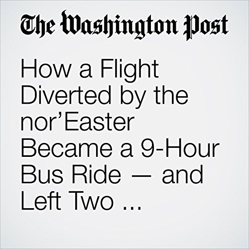 How a Flight Diverted by the nor'Easter Became a 9-Hour Bus Ride — and Left Two Travelers Hospitalized copertina
