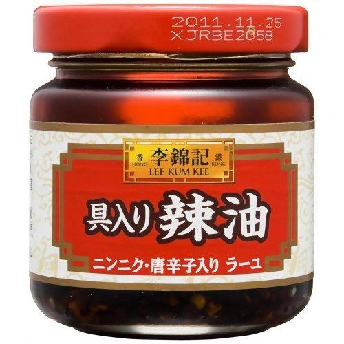 S&B 李錦記 具入り辣油 85g