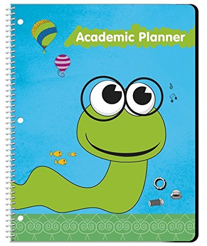 Undated Student Planner for Elementary Kids - Assignment Agenda -8.5 by 11 Inches by School Datebooks