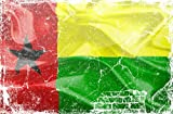 HONGXIN Guinea-Bissau Flagge Metallschilder Wanddekoration Vintage Wohnaccessoires Barzubehör Wohnaccessoires Küchenzubehör für Zuhause Mann Höhle Schilder