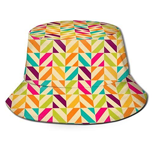 XCNGG Sombrero de Cubo de Viaje con Estampado único y Bonito Unisex, Gorra de Pescador de Verano con Plantas de Cactus