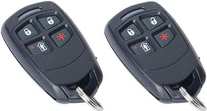 honeywell 4 button keyfob