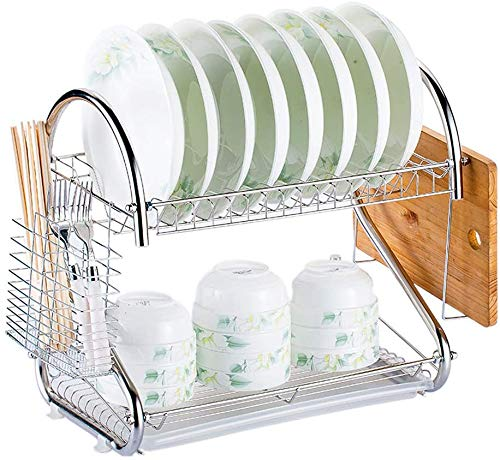Professional Dish Rack Home Collection Dish Drainer Drain Board